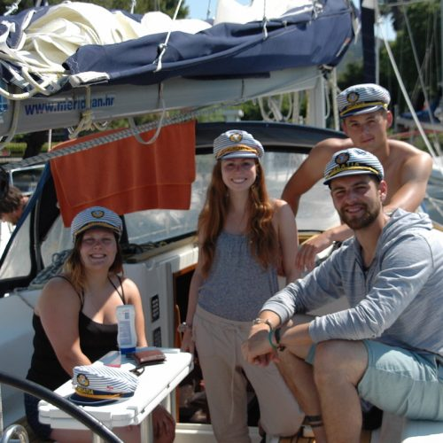 Kids from Quebec a.k.a. les debiles #dailysailing
