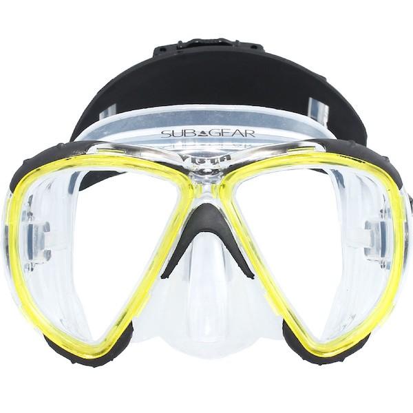 vista mask yellow